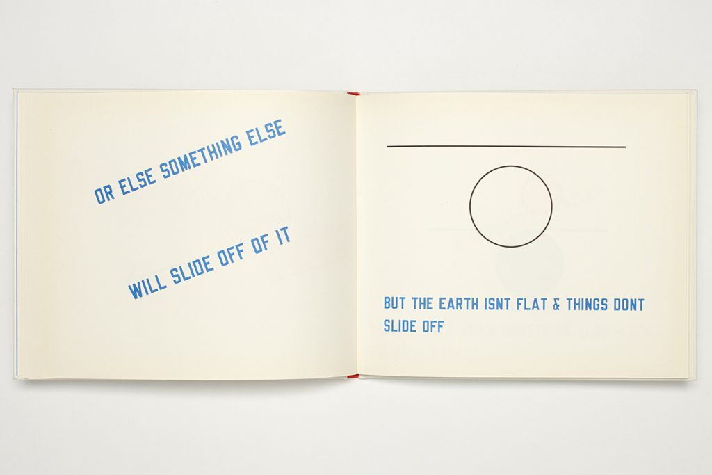 Lawrence Weiner, Little Steidl Artist Book